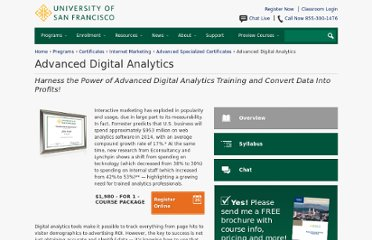 http://www.usanfranonline.com/online-courses/web-analytics-training.aspx