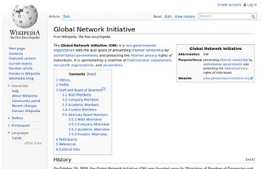 http://en.wikipedia.org/wiki/Global_Network_Initiative