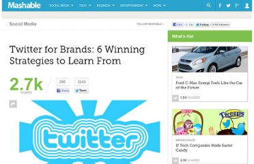 http://mashable.com/2011/01/07/twitter-brand-strategies/