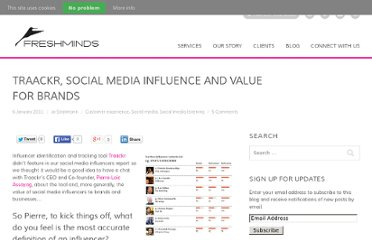 http://www.freshnetworks.com/blog/2011/01/traackr-social-media-influence-value-for-brands/
