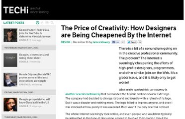 http://www.techi.com/2010/12/the-price-of-creativity-how-designers-are-being-cheapened-by-the-internet/