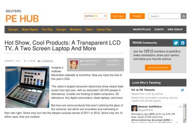 http://www.pehub.com/92502/hot-show-cool-products-a-transparent-lcd-tv-a-two-screen-laptop-and-more/