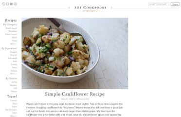 http://www.101cookbooks.com/archives/simple-cauliflower-recipe.html