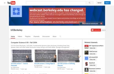 http://www.youtube.com/user/UCBerkeley