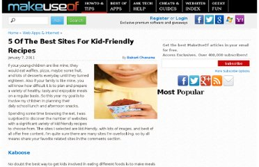 http://www.makeuseof.com/tag/5-sites-kidfriendly-recipes/