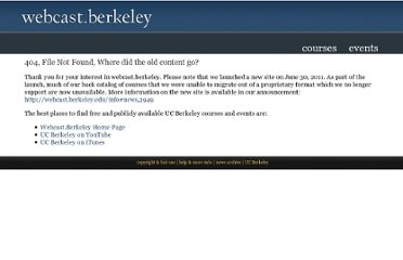 http://webcast.berkeley.edu/courses.php?semesterid=27