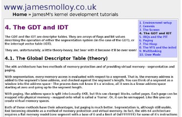 http://www.jamesmolloy.co.uk/tutorial_html/4.-The%20GDT%20and%20IDT.html