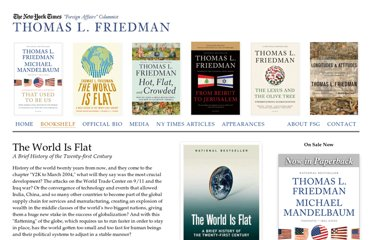 http://www.thomaslfriedman.com/bookshelf/the-world-is-flat