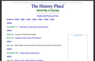 http://www.historyplace.com/worldwar2/timeline/ww2time.htm