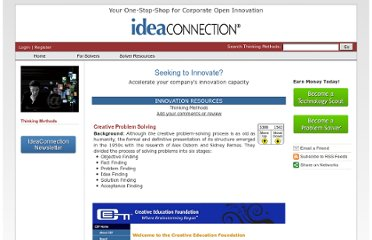 http://www.ideaconnection.com/thinking-methods/creative-problem-solving-00009.html