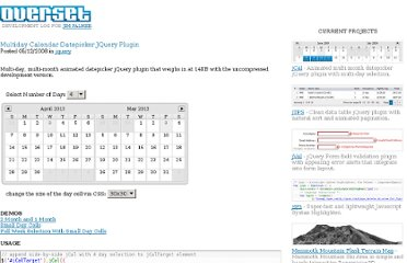 http://www.overset.com/2008/05/12/multiday-calendar-datepicker-jquery-plugin/