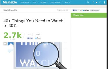 http://mashable.com/2011/01/09/things-to-watch-2011/