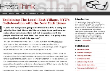 http://pressthink.org/2010/02/explaining-the-local-east-village-nyus-collaboration-with-the-new-york-times/