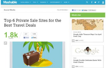 http://mashable.com/2011/01/09/travel-deals-top-sites/