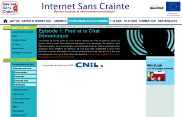 http://www.internetsanscrainte.fr/organiser-un-atelier/episode-1-fred-et-chat-demoniaque