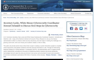 http://www.commerce.gov/blog/2011/01/07/secretary-locke-white-house-cybersecurity-coordinator-howard-schmidt-discuss-next-st