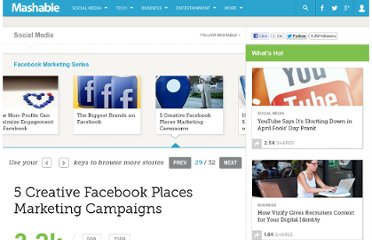 http://mashable.com/2011/01/10/facebook-places-campaigns/