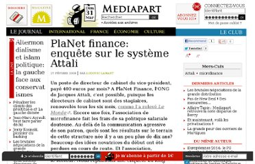 http://www.mediapart.fr/journal/economie/270209/planet-finance-enquete-sur-le-systeme-attali