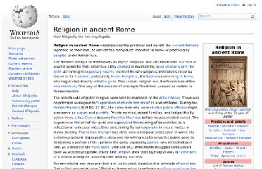 http://en.wikipedia.org/wiki/Religion_in_ancient_Rome