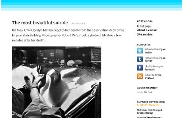 http://www.kottke.org/08/07/the-most-beautiful-suicide