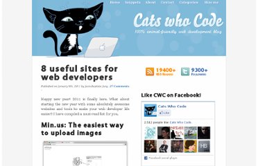 http://www.catswhocode.com/blog/8-useful-sites-for-web-developers