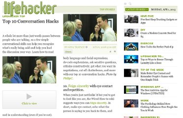 http://lifehacker.com/399895/top-10-conversation-hacks