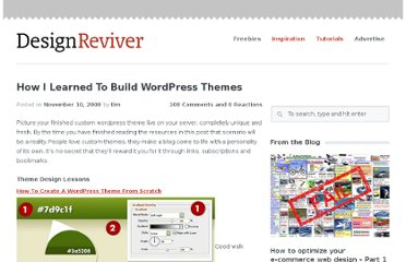 http://designreviver.com/inspiration/how-i-learned-to-build-wordpress-themes/
