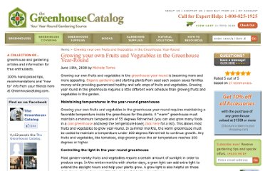 http://weblog.greenhousecatalog.com/greenhouse-tips/growing-your-own-fruits-and-vegetables-in-the-greenhouse-year-round/