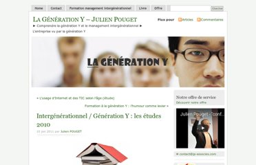 http://lagenerationy.com/2011/01/10/intergenerationnel-generation-y-les-etudes-2010/