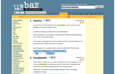 http://www.urbandictionary.com/define.php?term=unremarkable