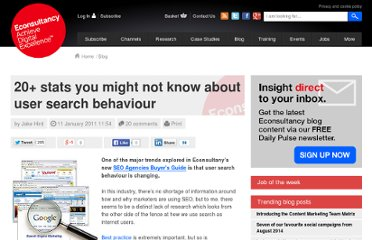 http://econsultancy.com/us/blog/7027-20-stats-you-might-not-know-about-user-search-behaviour