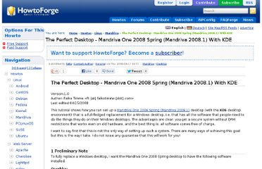 http://www.howtoforge.com/the-perfect-desktop-mandriva-one-2008-spring-kde