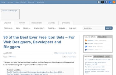 http://speckyboy.com/2008/07/28/96-best-ever-free-icon-sets-for-web-designers-developers-and-bloggers/