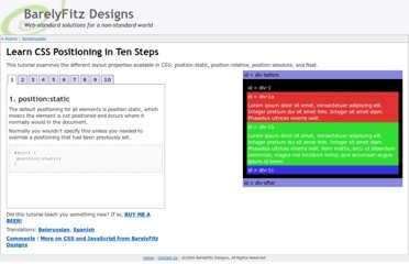 http://www.barelyfitz.com/screencast/html-training/css/positioning/