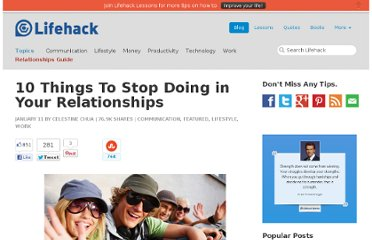 http://www.lifehack.org/articles/communication/10-things-to-stop-doing-in-your-relationships.html