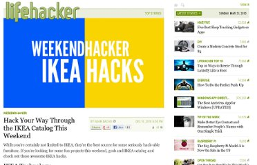 http://lifehacker.com/5711774/hack-your-way-through-the-ikea-catalog-this-weekend