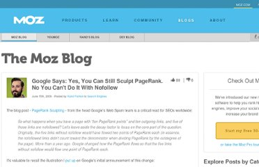 http://www.seomoz.org/blog/google-says-yes-you-can-still-sculpt-pagerank-no-you-cant-do-it-with-nofollow