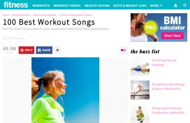http://www.fitnessmagazine.com/workout/music/popular-playlists/100-best-workout-songs/