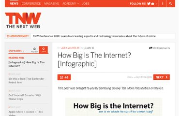 http://thenextweb.com/shareables/2011/01/11/infographic-how-big-is-the-internet/
