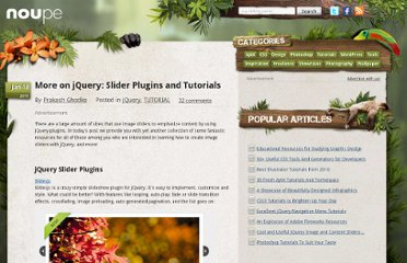 http://www.noupe.com/tutorial/more-on-jquery-slider-plugins-and-tutorials.html