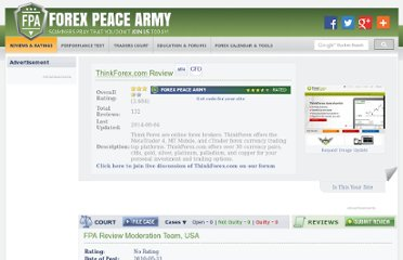 Forex peace army trade12