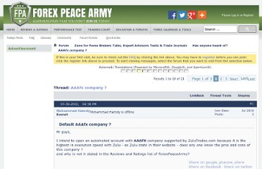 Forex peace army