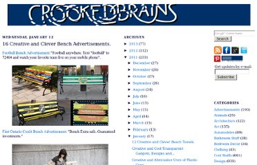 http://www.crookedbrains.net/2011/01/creative-bench-advertisements.html