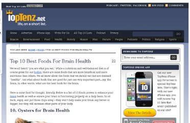 http://www.toptenz.net/top-10-foods-for-brain-health.php