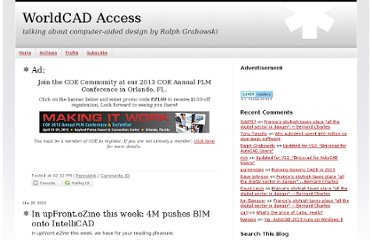 http://worldcadaccess.typepad.com/blog/