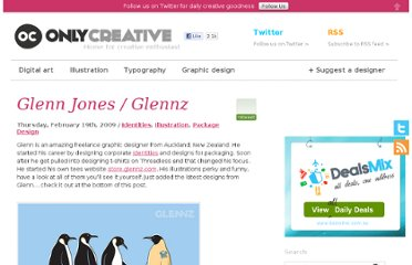 http://onlycreative.com.au/glenn-jones-glennz/