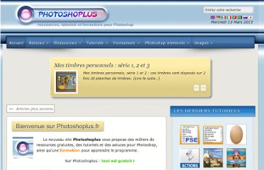 http://photoshoplus.info/pages/tutoriels-bases.htm