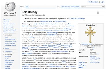 http://en.wikipedia.org/wiki/Scientology