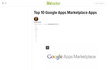 http://lifehacker.com/5492146/top-10-google-apps-marketplace-apps
