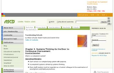 http://ascd.org/publications/books/103112/chapters/Systems-Thinking-As-the-Door-to-Continuous-Improvement.aspx